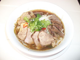 RICE NOODLE SOUP WITH STEW BEEF